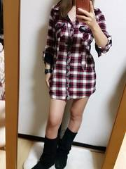 ☆BACKS シャツワンピ☆