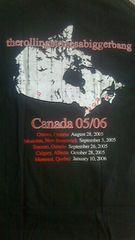 ローリングストーンズご当地限定Tシャツカナダ新品正規