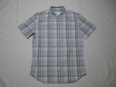 46 男 CK CALVIN KLEIN カルバンクライン チェックシャツ M