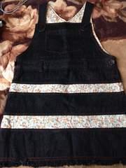 V(^_^)V新同*ジャンバースカート*130cm*