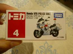 新品 トミカ4 ホンダ VFR白バイ