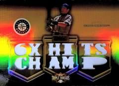 topps10.TRIPLE-THREADS イチロー・ジャージカード/9 MLB6シーズン最多安打
