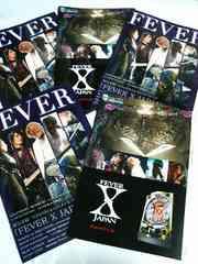 レアFEVER X JAPANカタログ5冊YOSHIKI/TOSHI/HEATH/PATA
