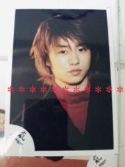 レア◆嵐 櫻井翔 公式写真*2001*嵐が春の嵐を呼ぶ〜[as-2]