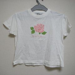 ジルスチュアート S 薔薇 半袖Tシャツ