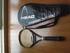 テニスラケット、K,AROPHITE,BLACK,K,BLADE98TMカバー付き中古