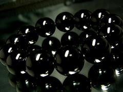 ブラックオニキス§黒瑪瑙§16ミリ§天然石数珠