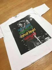 LA直輸入 ボブマリーレゲエサイズ4XL→5XL位Tシャツ白Z�S