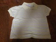 100 韓国のポロシャツ 美品 薄い生地