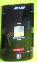 �o�b�t�@���[BUFFALO D81 500GB USB