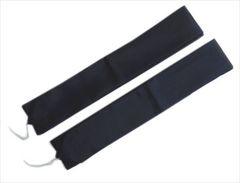 着物&浴衣に メンズ男物男性和装用腰紐こしひも2本セット黒