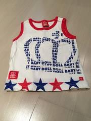 BABY DOLL �^���N�g�b�v 80cm