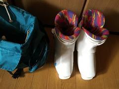 スキー靴23〜23.5センチホワイト