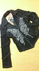 アルゴンキン蝶々ジャケットゴスロリブラック黒ゴシック