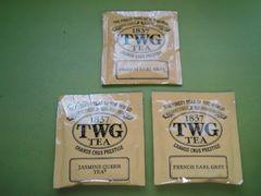 シンガポール高級紅茶TWGティーパック3点まとめ売り