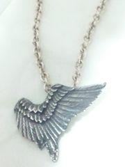 ワイルド ストロベリー【WILD STRAWBERRY 】925 silver フェザー ネックレス