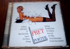 映画 PRET-A-PORTER プレタポルテ サントラ 名盤 CD 人気盤