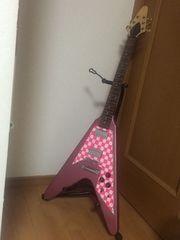 ☆フライングV*Perl Pinkギター☆