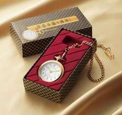 送料無料】金色の懐中時計