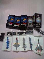 宇宙戦艦ヤマトフィギュアコレクション5種