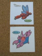 ◆ポケモン/デコキャラシール2枚