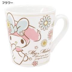 ◆マイメロディ 陶器製マグ/フラワー