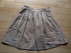 美品 eath ベージュのフレアスカート