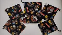 福袋 ◆ 51K  ワンピース 巾着5点セット (^o^) ハンドメイド