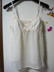 アンフィ ベビードールLサイズアイボリーホワイトclg125
