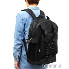 新品 リュックサック メンズ レディース 通学バッグ 防災バッグ バックパック 黒