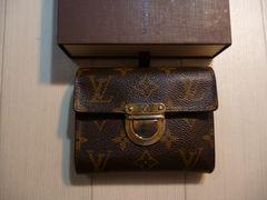 ルイ・ヴィトンのモノグラムのコアラ 三つ折り財布
