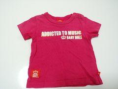 ベビードールTシャツ ピンク80