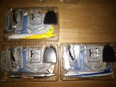 1/300 F-toys 日本のエアライン2 A320 3種 ANA 等