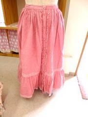 リッチガールダンガリースカート