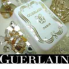 ゲラン 石鹸ソープケース*限定品*入手困難*Goldロゴ*gg-1