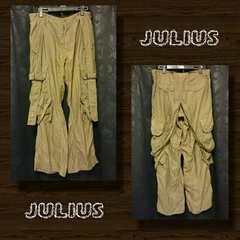 JULIUS/ユリウス ストラップカーゴパンツ