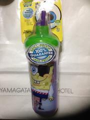 アメリカ購入スポンジボブパイレーツlnsulated straw cup新品