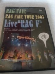 RAGFAIR TOUR  2003 LIVE RAG F