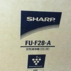 FU-F28-A 空気清浄機 プラズマクラスター  新品●送料無料