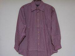 即決USA古着トミーヒルフィガーストライプデザインシャツ!アメカジビンテージレア