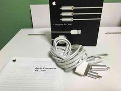 Apple  コンポジットAVケーブル