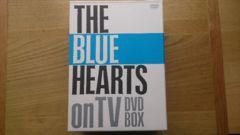 新品THE BLUE HEARTS onTV DVD BOXブルーハーツ初回限定5枚組DVD