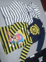 長袖Tシャツ3枚☆男の子80サイズまとめ売り☆ワンピース