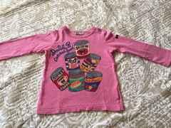 ミキハウス ダブルb ロングTシャツ90