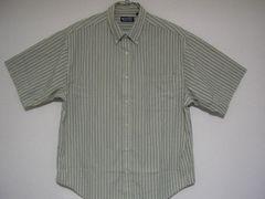 即決USA古着鮮やかチェック半袖シャツ!ビンテージ