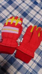 Used美品☆Kerseyスキー用手袋☆7〜8歳