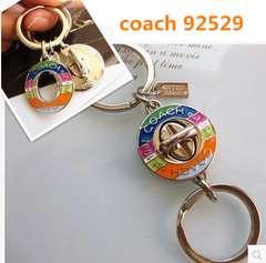 COACH コーチ レガシーターンロックバレット キーホルダー 92529
