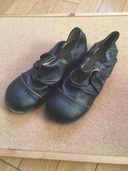 美品!!3Eブラック靴