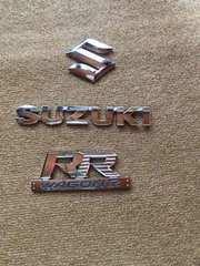 スズキ  ワゴンR  RR  エンブレム(^_^)