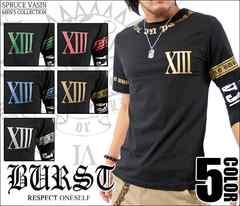 メール便送料無料【MAD BURST JAPAN】70531Tシャツ黒金XL